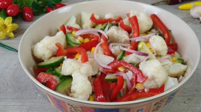 Салат Мексиканський - покроковий рецепт