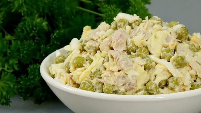 Салат Ципочка - рецепт