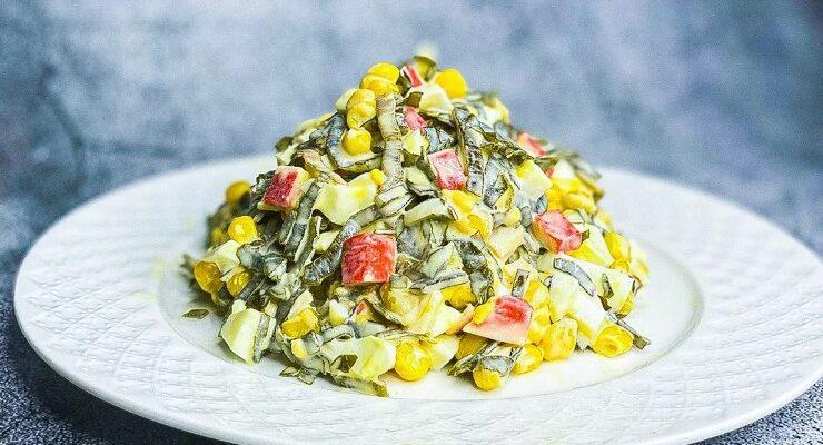 Шикарний салат за 2 хвилини, рецепт приготування