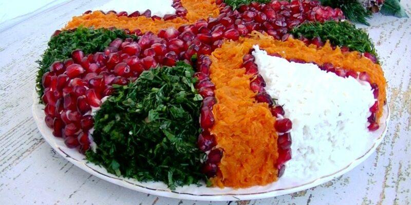 Салат з індички і огірків - рецепт приготування