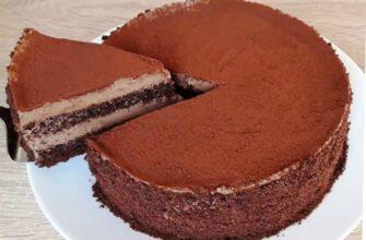 Торт Трюфельний, рецепт