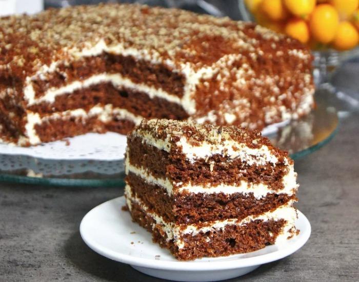 Торт на швидку руку - детальний рецепт