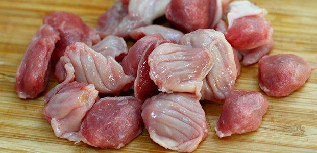 Курячі шлуночки - рецепт приготування