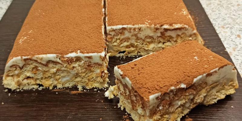 Ніжний торт без випічки - рецепт приготування