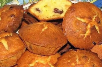 Повітряні сирні кекси - рецепт приготування