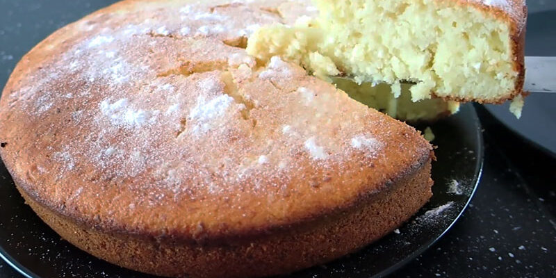 Смачний сирний кекс - рецепт приготування