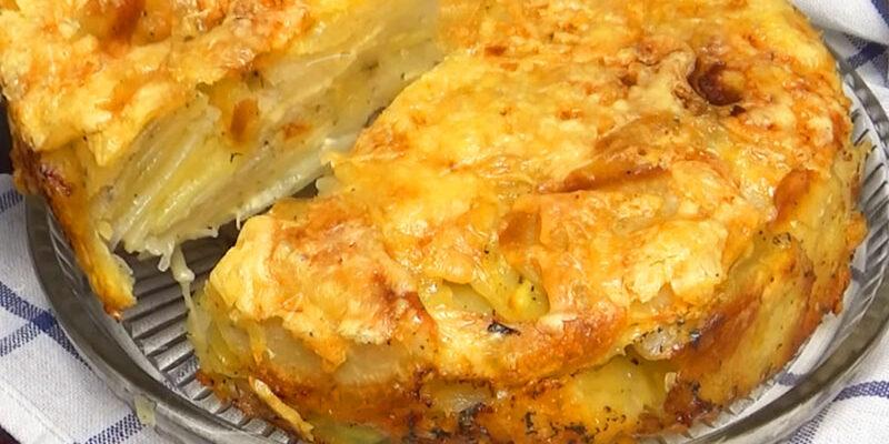 Смачний і простий пиріг - рецепт приготування