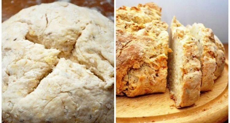 Хліб на кефірі - рецепт приготування