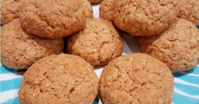 Вівсяне печиво на кефірі - рецепт приготування