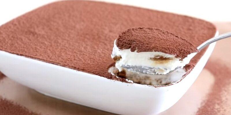 Десерт тірамісу - детальний рецепт