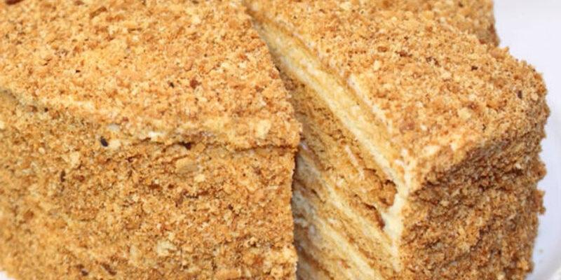 Класичний торт «Медовик» - рецепт приготування
