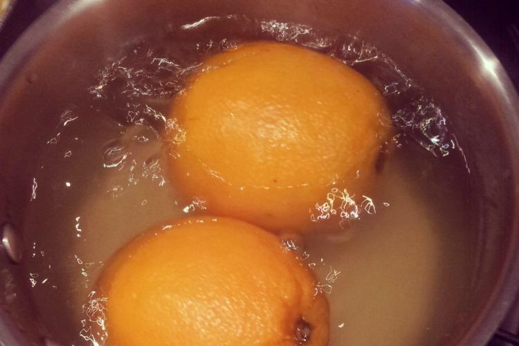 Єгипетський мигдально-апельсиновий пиріг