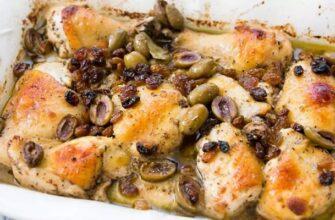 Курка в духовці по-італійськи - рецепт приготування