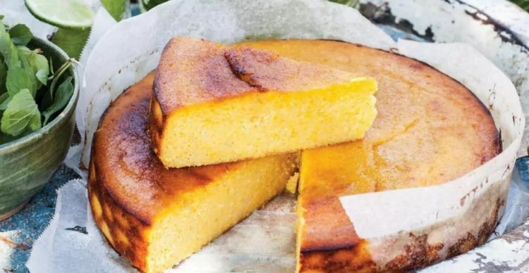 Мигдально-апельсиновий пиріг - рецепт приготування