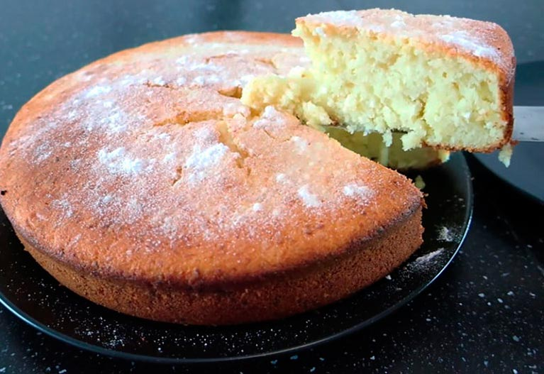 Сирний кекс - рецепт приготування