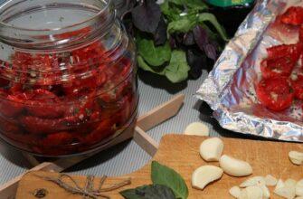 В'ялені помідори по-італійськи - детальний рецепт