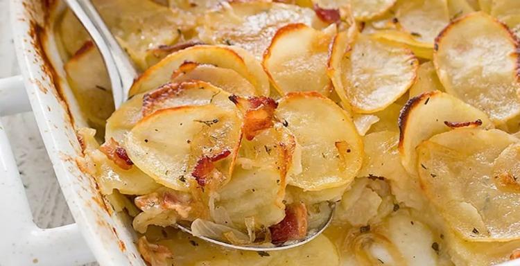 Картопля для вечері - рецепт приготування