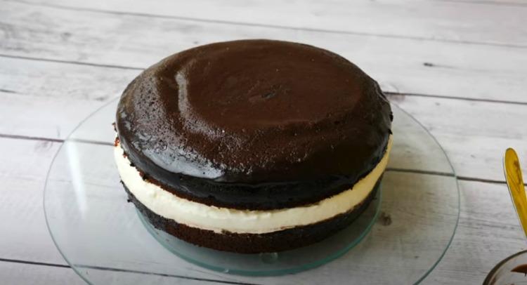 Рецепт підгледіла в закордонному журналі! Смачний торт «Kinder Pingui»