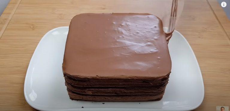Шоколадний торт без борошна. Любителям шоколаду торт неодмінно сподобається
